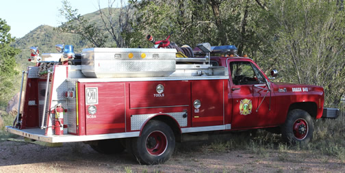 CPFD Brush Truck