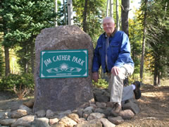 Park Named for Jim Cather